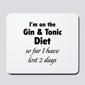 Gin & Tonic Diet Mousepad