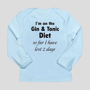 Gin & Tonic Diet Long Sleeve Infant T-Shirt