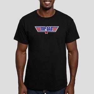 TOP DAD Men's Fitted T-Shirt (dark)