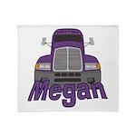 Trucker Megan Throw Blanket
