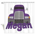Trucker Megan Shower Curtain