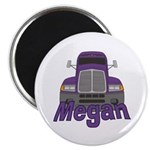 Trucker Megan Magnet