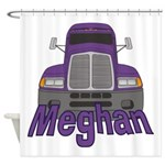 Trucker Meghan Shower Curtain