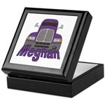 Trucker Meghan Keepsake Box