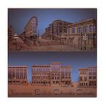 Vancouver Gastown Souvenir Tile Coaster