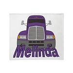 Trucker Melinda Throw Blanket