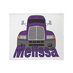 Trucker Melissa Throw Blanket