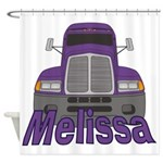 Trucker Melissa Shower Curtain