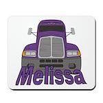 Trucker Melissa Mousepad