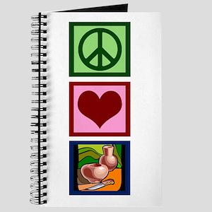 Peace Love Pottery Journal