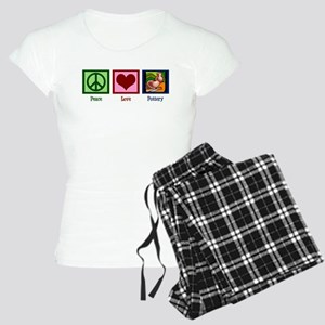 Peace Love Pottery Women's Light Pajamas