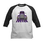 Trucker Mia Kids Baseball Jersey
