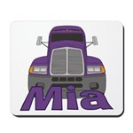 Trucker Mia Mousepad