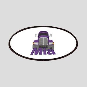Trucker Mia Patches