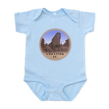 Vancouver Gastown Souvenir Baby Light Bodysuit