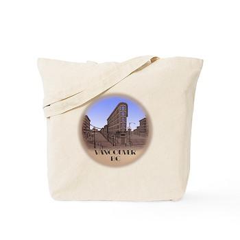 Vancouver Gastown Souvenir Tote Bag