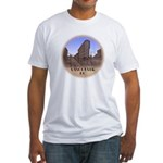 Vancouver Gastown Souvenir Fitted T-Shirt