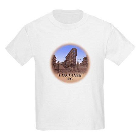 Vancouver Gastown Souvenir Kids Light T-Shirt