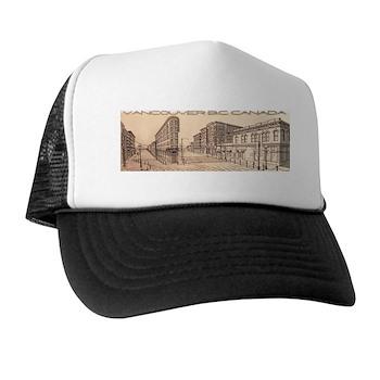 Vancouver Gastown Souvenir Trucker Hat