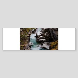 Athabasca Falls Bumper Sticker