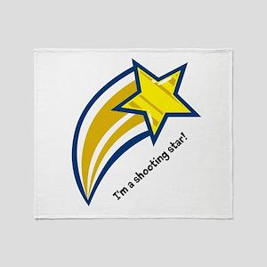 shooting star Throw Blanket