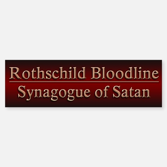 Rothschilds Exposed - Sticker (Bumper)