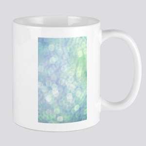 Blue Bokeh Mug