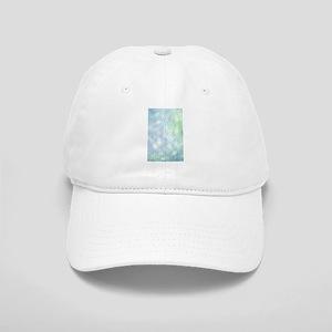 Blue Bokeh Cap