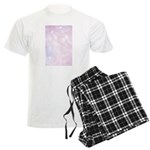 Pink Bokeh Men's Light Pajamas
