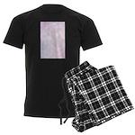 Pink Bokeh Men's Dark Pajamas