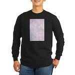 Pink Bokeh Long Sleeve Dark T-Shirt