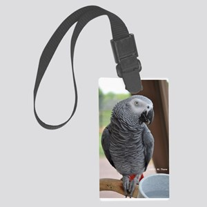 Congo African Grey Large Luggage Tag