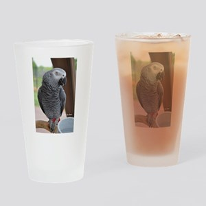 Congo African Grey Drinking Glass