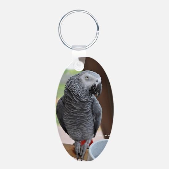Congo African Grey Keychains