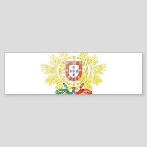 Portugal Coat Of Arms Sticker (Bumper)