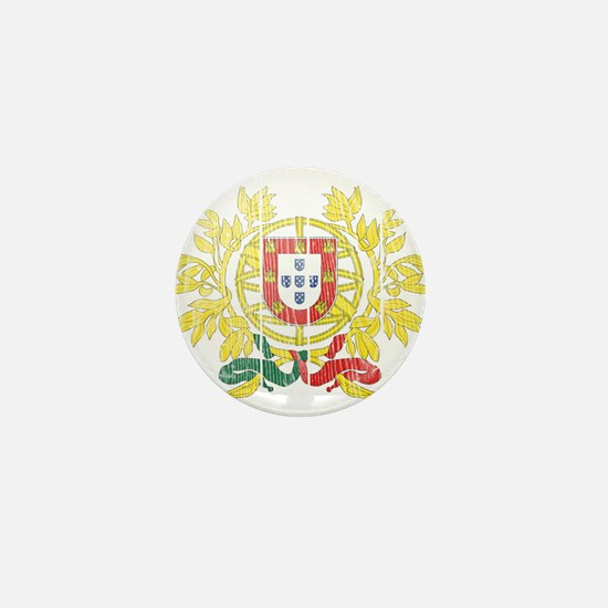 Portugal Coat Of Arms Mini Button