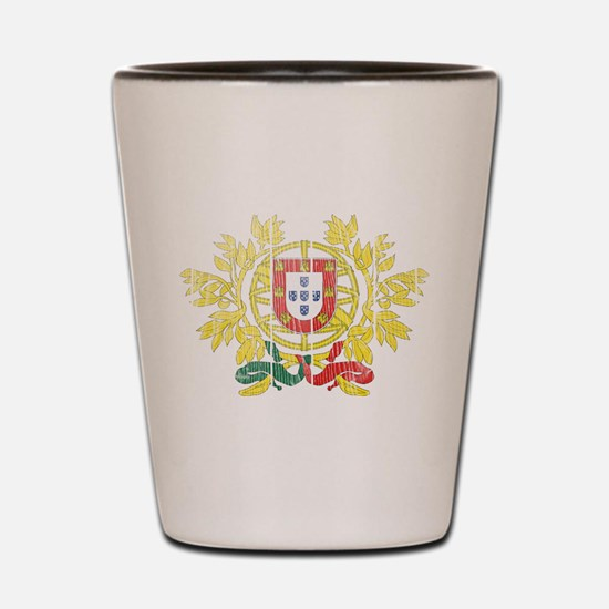 Portugal Coat Of Arms Shot Glass