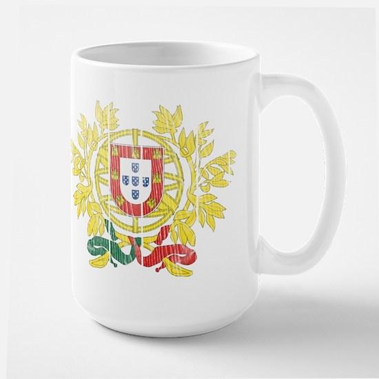 Portugal Coat Of Arms Large Mug