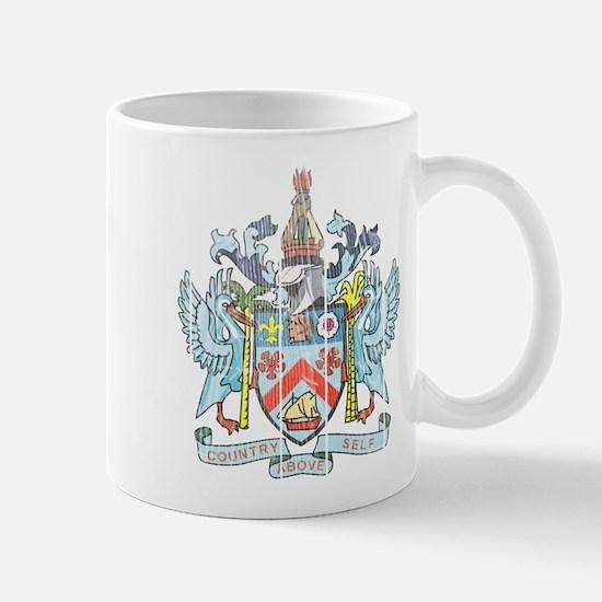 Saint Kitts Nevis Coat Of Arms Mug