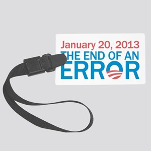 The End Of An Error Large Luggage Tag