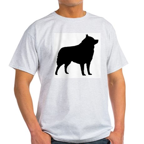 Black Schipperke Ash Grey T-Shirt
