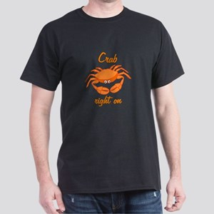 Crab Right On Dark T-Shirt