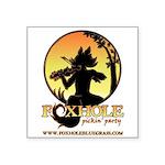 "Foxhole Square Sticker 3"" x 3"""
