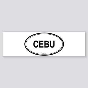 Cebu, Philippines euro Bumper Sticker