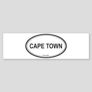 Cape Town, South Africa euro Bumper Sticker