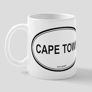 Cape Town, South Africa euro Mug