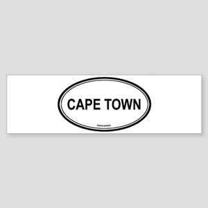 Cape Town, South Africa euro Bumper Sticker