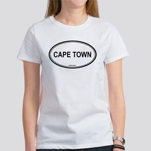 Cape Town, South Africa euro Women's T-Shirt