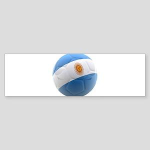 Argentina world cup soccer ball Sticker (Bumper)