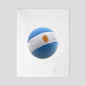 Argentina world cup soccer ball Twin Duvet